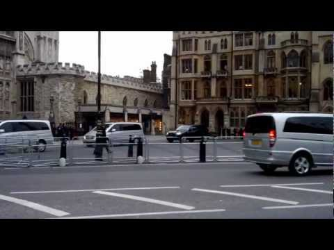 President of Indonesia Motorcade in London