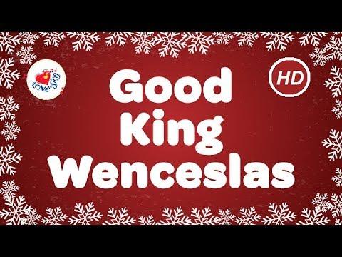 Good King Wenceslas Christmas Carols & Songs with Lyrics   Children Love to Sing