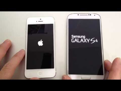 Samsung Galaxy S4 Vs Apple iPhone 5 (Performance)