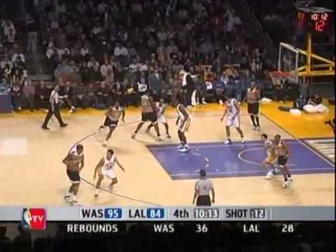 Gilbert Arenas scores 60 (career-high) at Staples Center, of which 16 points come at the overtime - an NBA record. Seems like it was such a long time ago tha...
