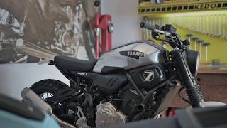 Yamaha XSR700 JvB-moto SUPER 7 XSR Custombike-Kit