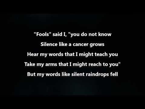 Disturbed - The Sound Of Silence [Lyrics Video]