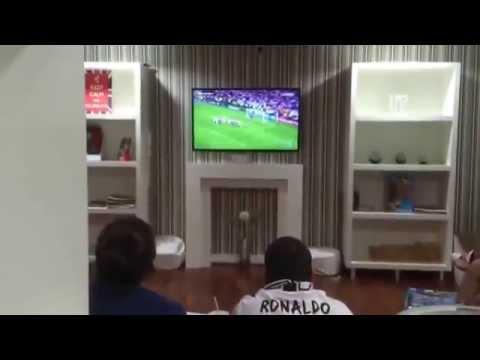«Реакция болельщиков Реала по всему миру на гол Рамоса»