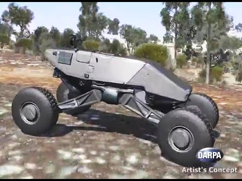 DARPA - Ground X-Vehicle Technology (GXV-T) Crew Augmentation Simulation [480p]