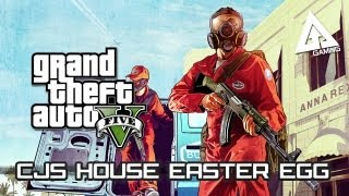 GTA 5 Easter Egg - How to find CJ's House/Grove Street (GTA: San Andreas Throwback)