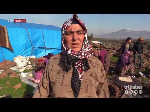 """""""Yörük Teyze"""" Afrin'den zaferle dönecek Mehmetçiğin yolunu gözlüyor."""