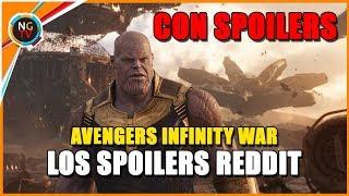 Avengers Infinity War SPOILERS FILTRADOS
