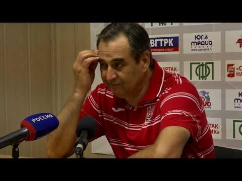 Спартак-Нч - Динамо-Ст. Пресс-конференция
