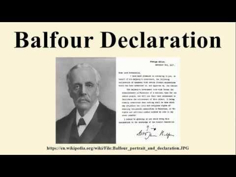 Balfour Declaration ©2017 Judith S  Tellerman