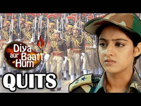 Sandhya SUDDENLY QUITS IPS Training in Diya Aur baati Hum 5th...