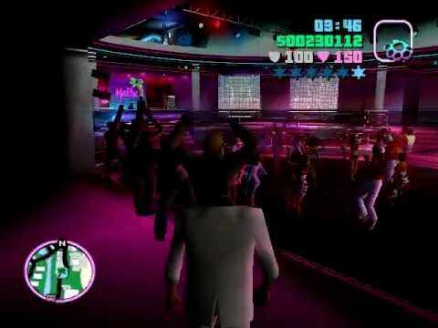 GTA Vice City Easter Egg: Funny Malibu Club Dancer.