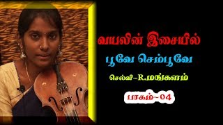 Violin Class For Beginners   Poove Sempoove Song Cover   Violin Tutorial   Ravi Shines Tamil