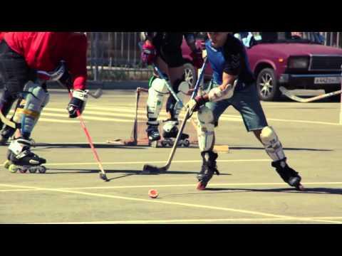 Хоккеисты на роликах