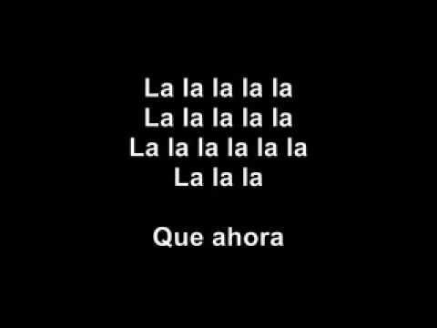 shakira lalala español con letra