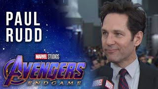 "Paul Rudd Hopes Ant-Man Is in ""Avengers: Endgame"""