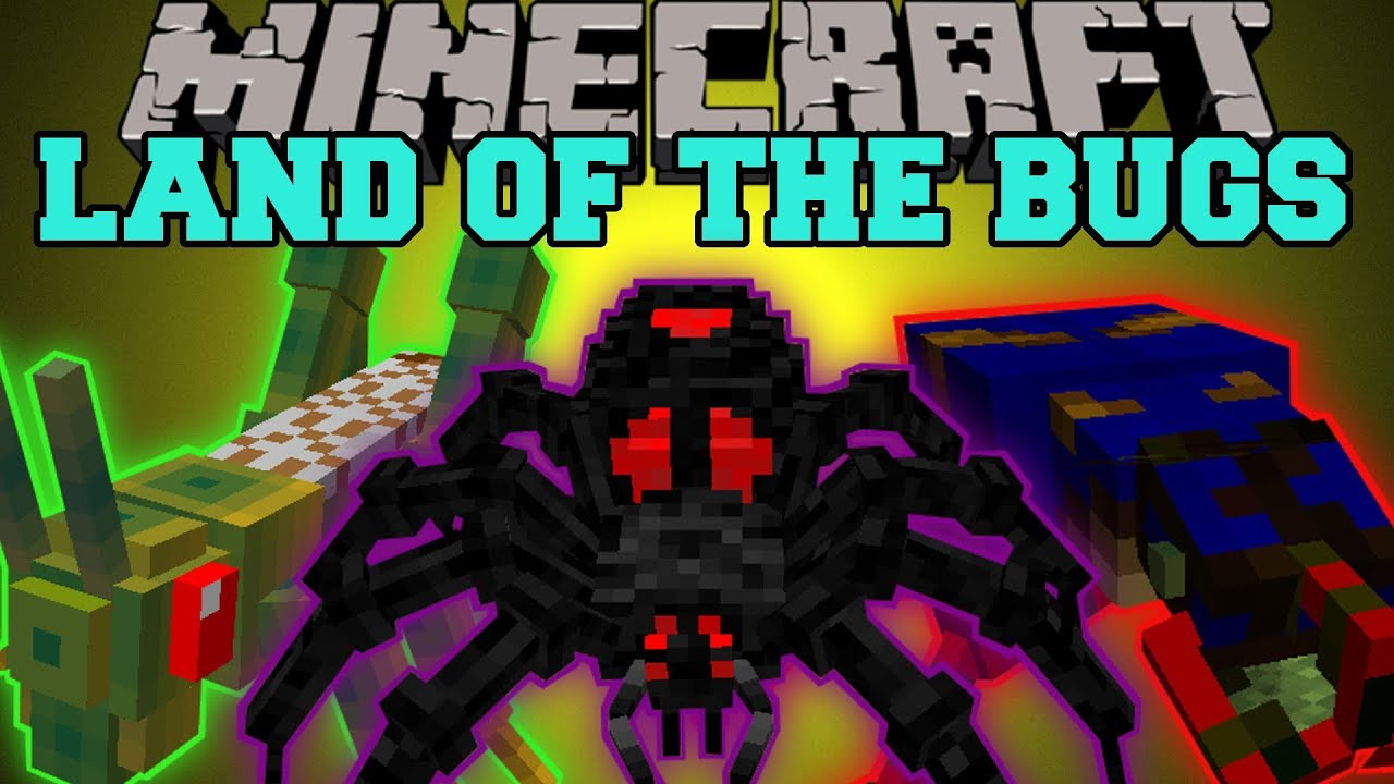 Minecraft Land of The Bugs