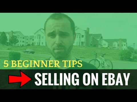 5 Beginner Tips For Selling On Ebay
