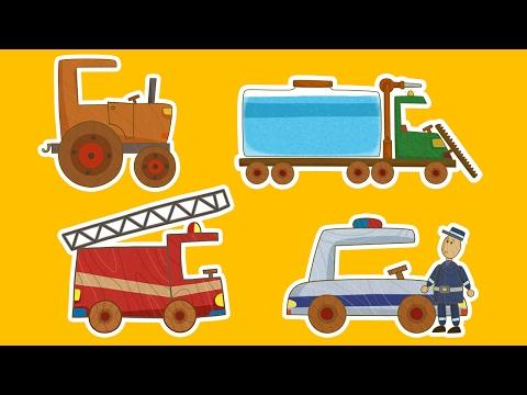 Машинки 🚗🚒 МЕГАСБОРНИК 🚜🚚 Все серии подряд - Мультики для мальчиков | Летающие звери