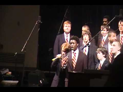 "Antonio H. and Manchester High School Singing Celo Green ""Forget You"""