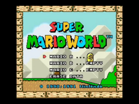 SMW Random Cheats #1 - NO-BGM Levels and ''Coloured'' Mario