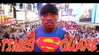 Super Street Workout - Push Up Your Game 2 - Times Square - Featuring: Prophecy Workout
