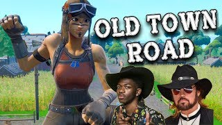 """Fortnite Montage - """"OLD TOWN ROAD"""" (Lil Nas X & Billy Ray Cyrus)"""