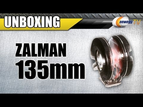 Newegg TV: ZALMAN 135mm Long life bearing CPU Cooler Unboxing