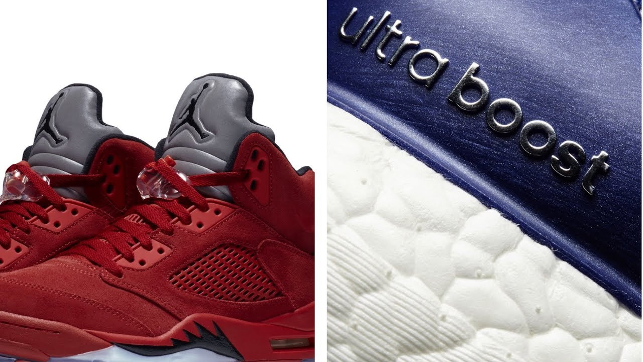 "More ADIDAS UltraBoost, ""Flight Suit"" Jordan 5 and more on Heat Check"