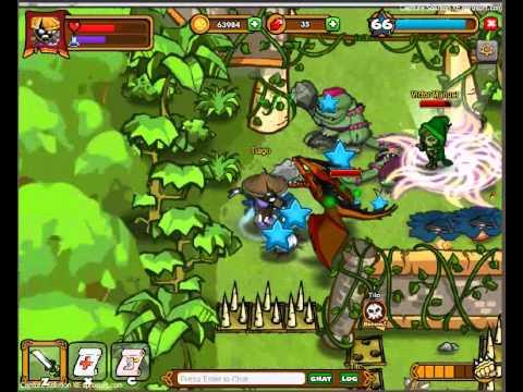 Ronin Samurai + Red Dragon Pet - Dungeon Rampage