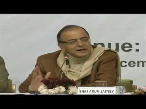 Shri Arun Jaitley address a intellectual meet at SKICC Hall, Santoor Hotel, Srinagar