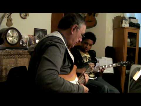 Ray Gallo and Pupil Pascal - Rockschool Guitar Grade 3