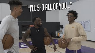 Future NBA Superstar De'Aaron Fox CALLS OUT LSK & 2Hype to play Him 1v1!