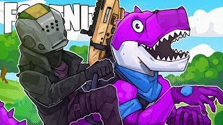 THEY ADDED BARNEY THE DINOSAUR! - Fortnite Battle Royale