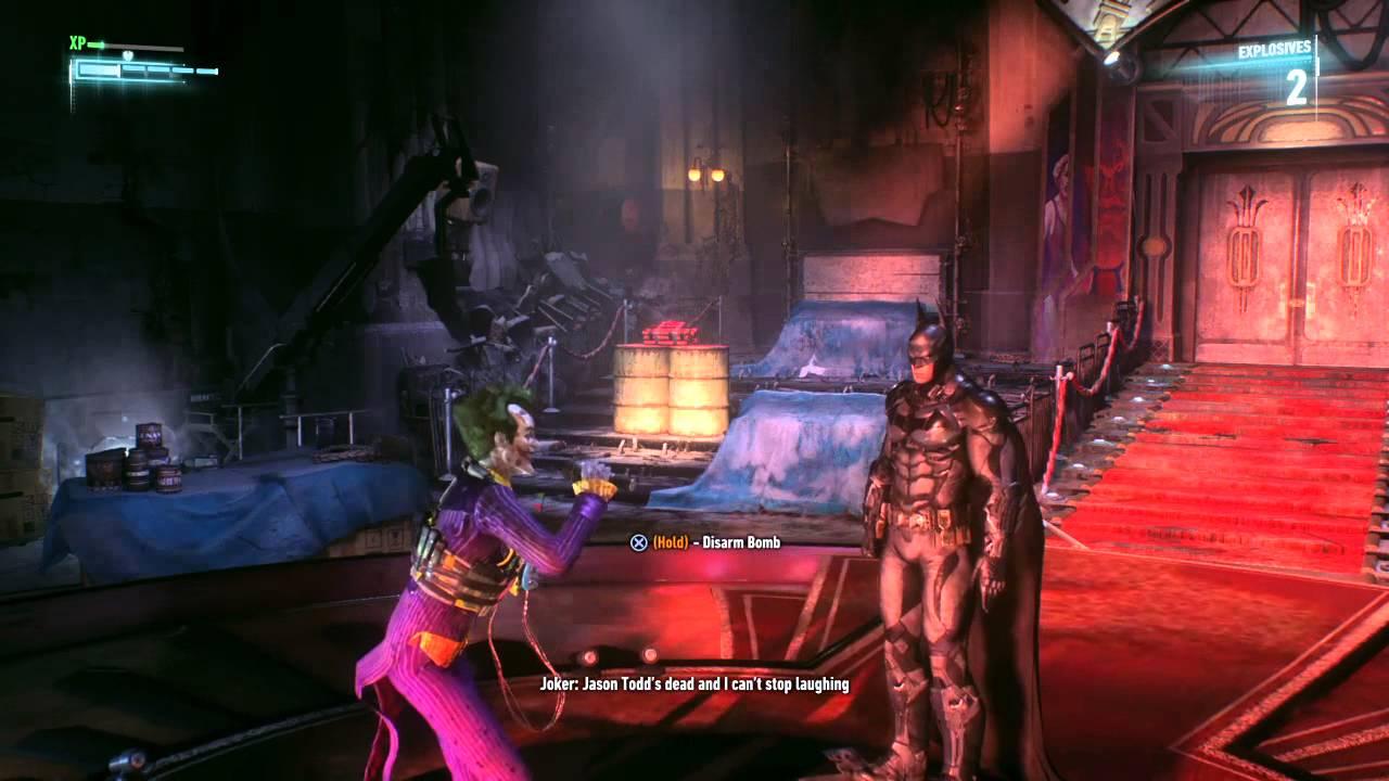 Arkham Joker Laugh Joker Arkham Knight Song Look