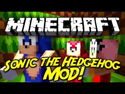 Minecraft Mod Showcase : Sonic the Hedgehog!
