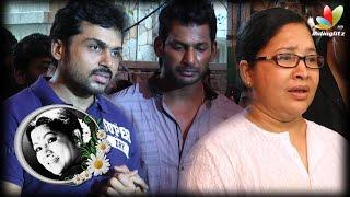 Vishal Says Aachi Manorama Death