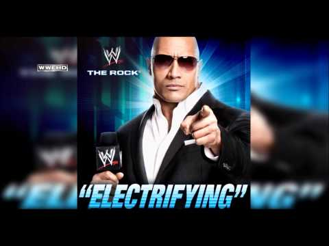 WWE: Electrifying (The Rock) Theme Song + AE (Arena Effect)