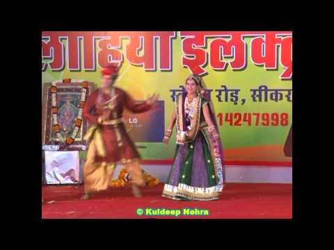 Gori Naache Song Rajasthani Falguni Dance in Agarwal Society...