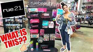 I GAVE MYSELF A RUE 21 MAKEOVER! HAIR, MAKEUP,  & OUTFIT!