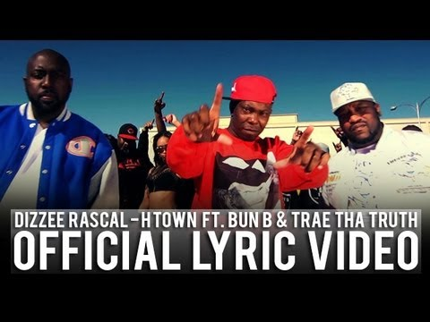 Dizzee Rascal - H Town ft. Bun B & Trae Tha Truth (Lyric Video)