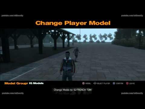 (PS3) GTA IV MOD MENU ONLINE + Skin Mod