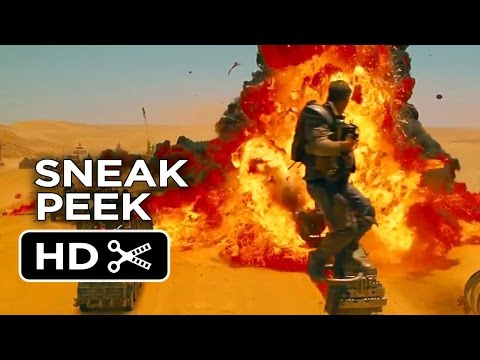 Mad Max: Fury Road Sneak Peek - Explosions (2015) - Tom Hardy, Charlize Theron Movie HD
