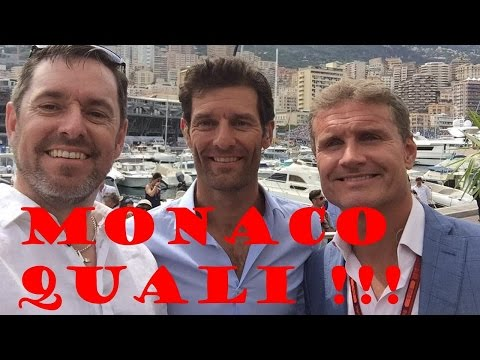 2016 Monaco F1 Qualifying on the Red Bull Energy Station