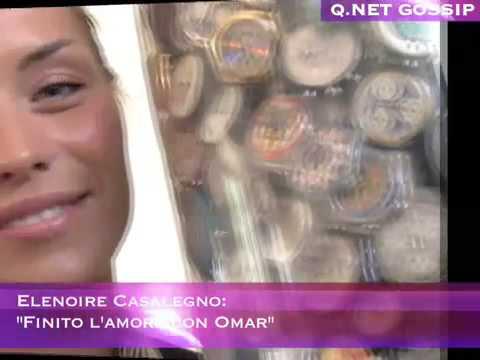 """Elenoire Casalegno: """"Finito l'amore con Omar"""""""