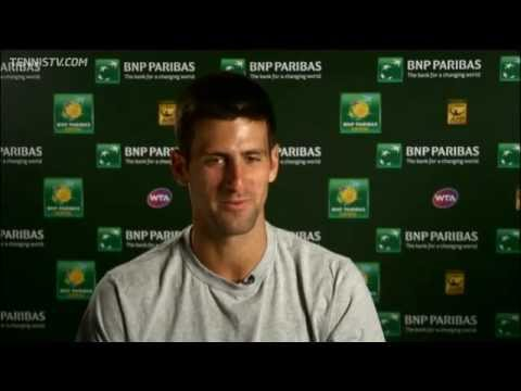 Djokovic Cruises Past Gulbis In Indian Wells
