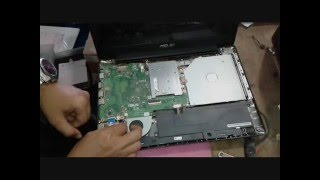How to Replace Speaker Device on Asus X453MA Notebook