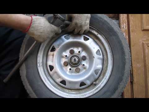 Балансировка колес своими руками видео