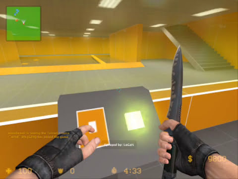 Counter Strike Source Deathrun gameplay video