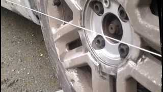 Renault Megane 2, steering inner tie rods replacement + basic tracking