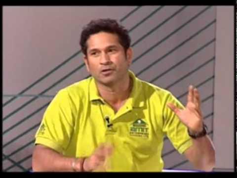 Sachin Tendulkar Interview (Marathi) – Part 1